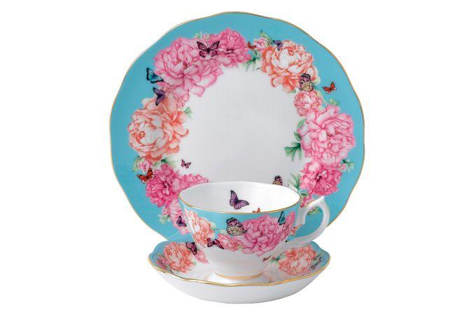 Miranda Kerr for Royal Albert Devotion 3 Piece Set Teacup, Saucer, Plate 20cm Devotion