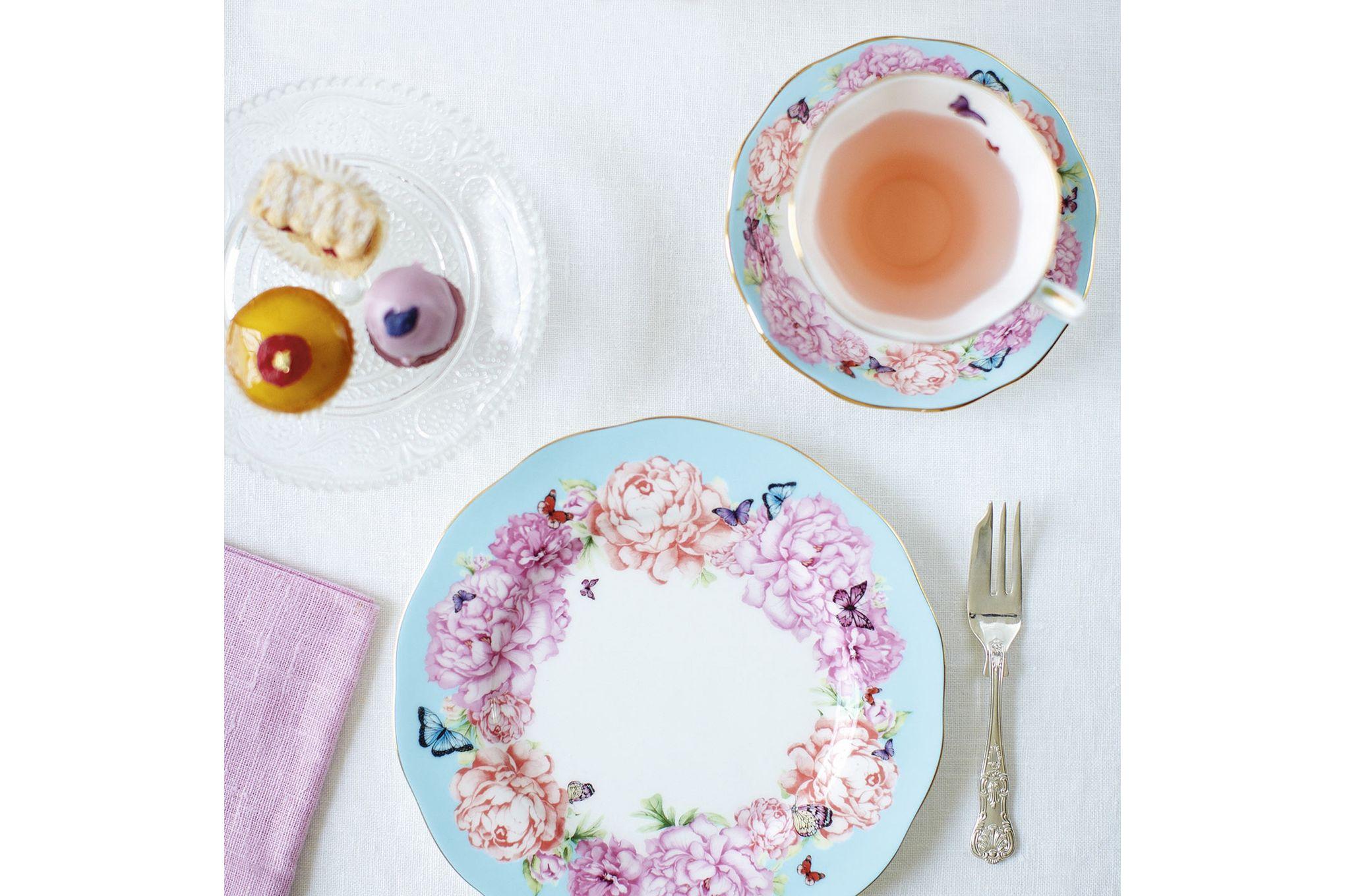 Miranda Kerr for Royal Albert Devotion 3 Piece Set Teacup, Saucer, Plate 20cm Devotion thumb 3