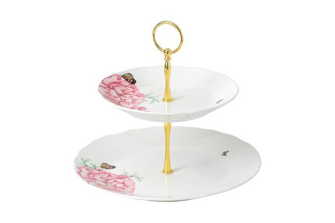 Miranda Kerr for Royal Albert Everyday Friendship 2 Tier Cake Stand 27cm/20cm White