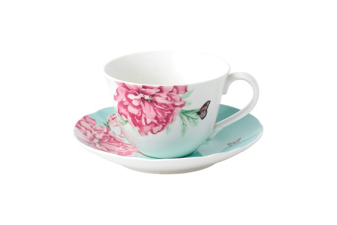 Miranda Kerr for Royal Albert Everyday Friendship Teacup & Saucer Green
