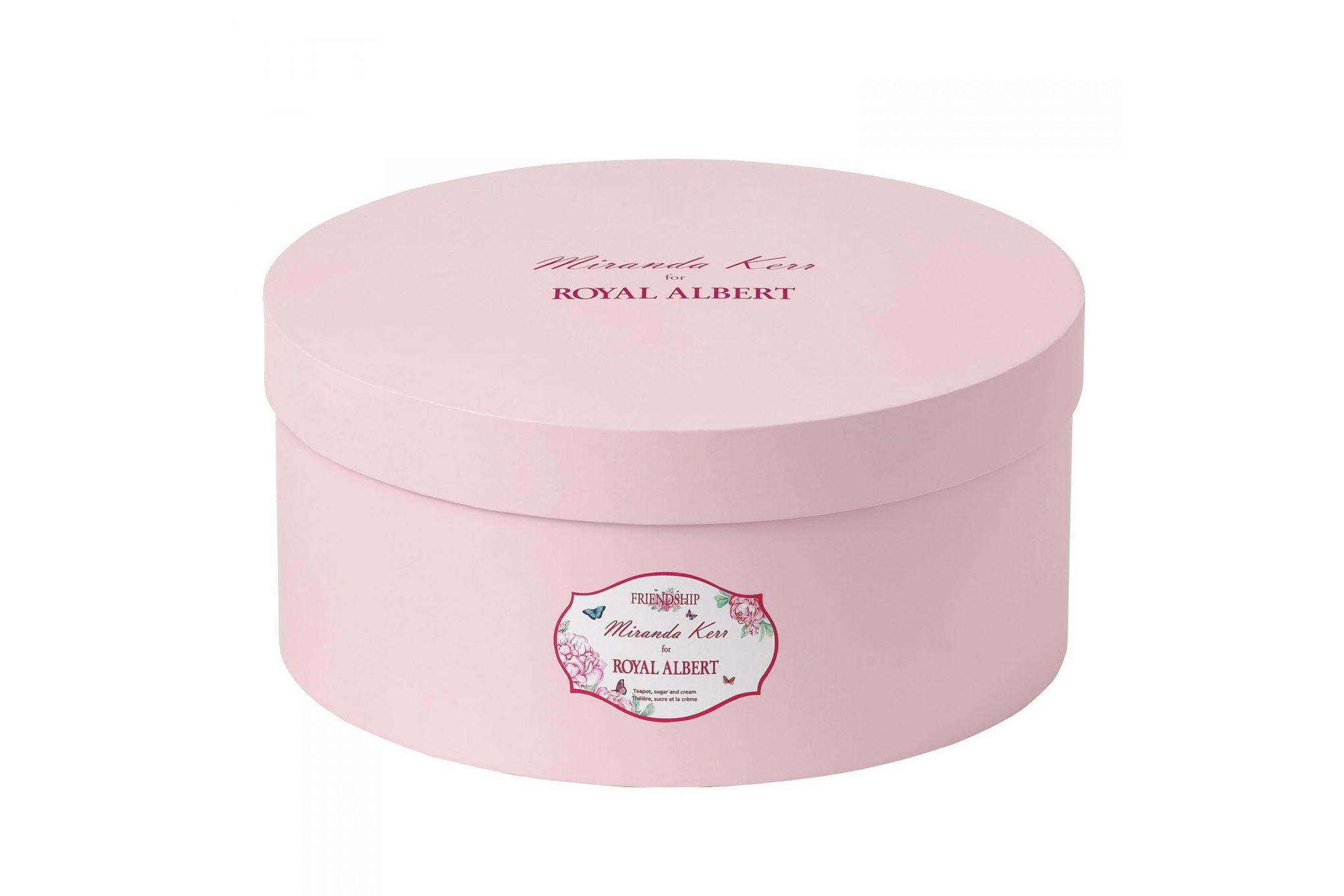 Miranda Kerr for Royal Albert Friendship 3 Piece Tea set Teapot, Sugar and Cream thumb 2
