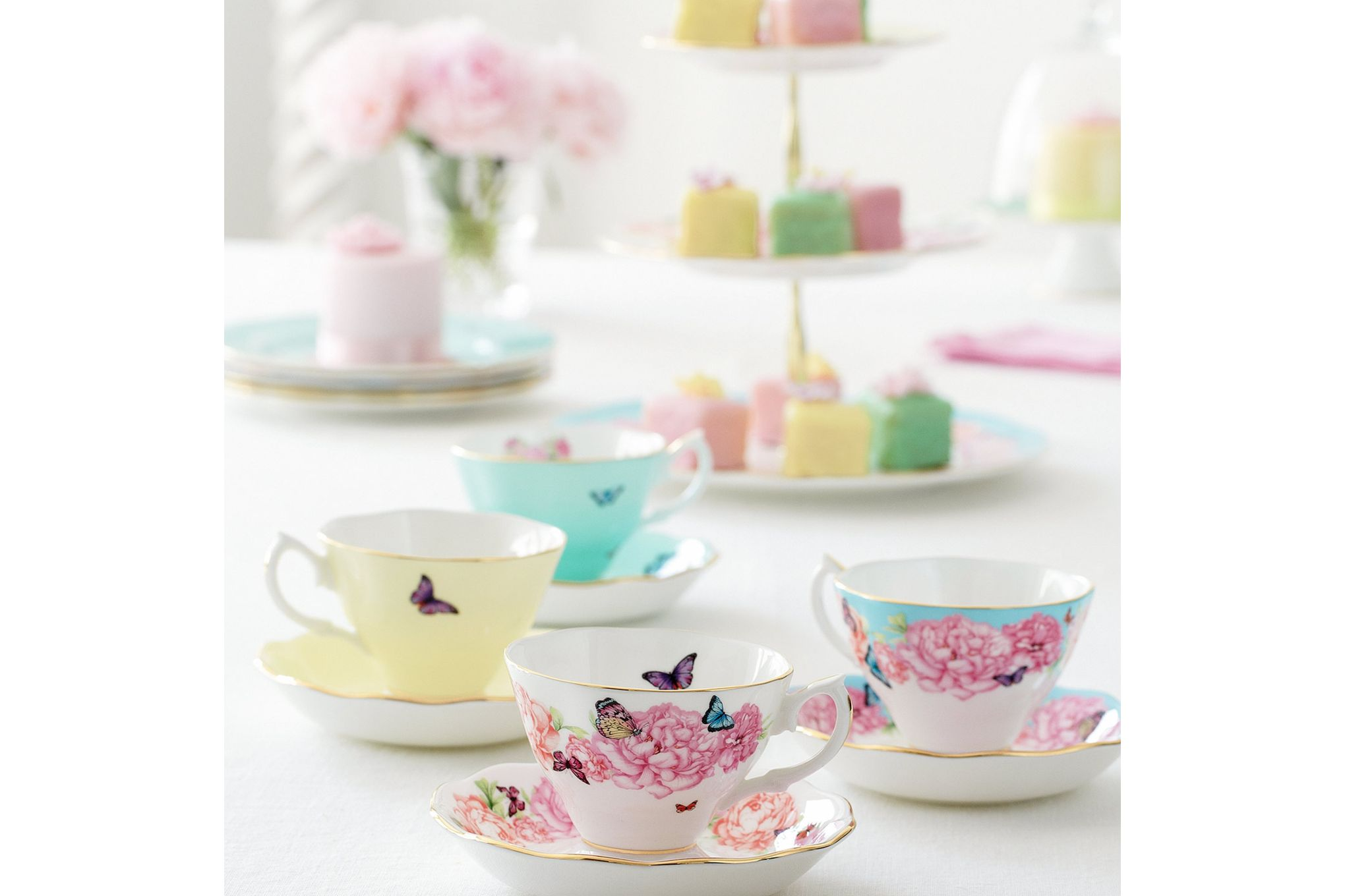 Miranda Kerr for Royal Albert Gift Sets 3 Tier Cake Stand thumb 4