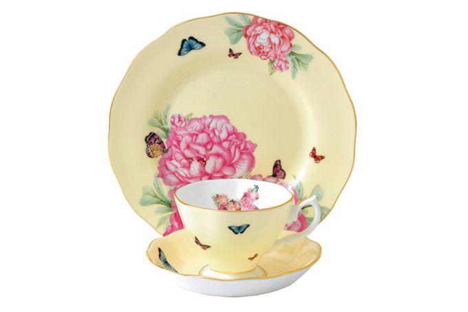 Miranda Kerr for Royal Albert Joy 3 Piece Set Teacup, Saucer, Plate 20cm Joy