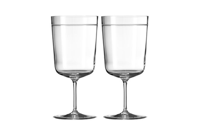 Vera Wang for Wedgwood Bande Pair of Goblets