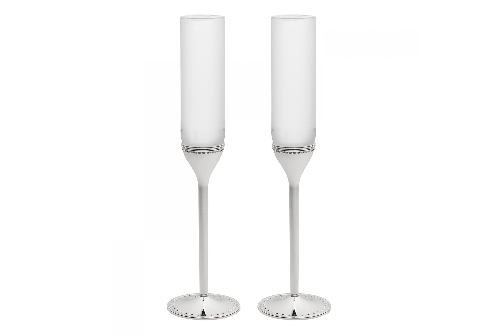 Vera Wang for Wedgwood Gifts & Accessories Toasting Flute Pair Grosgrain thumb 1