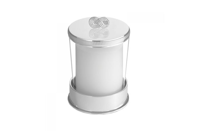 Vera Wang for Wedgwood Gifts & Accessories Covered Candle On Base Infinity