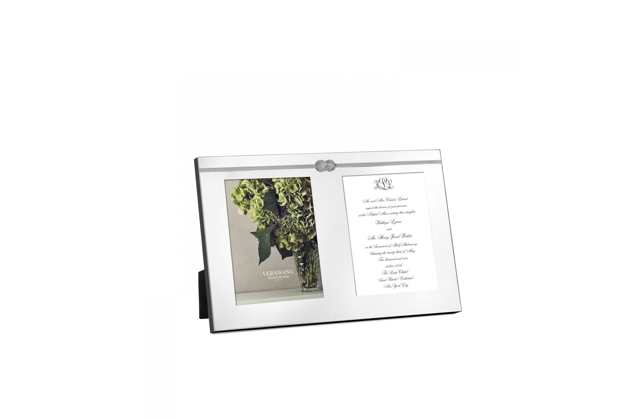 Vera Wang for Wedgwood Gifts & Accessories Double Invitation Frame Infinity thumb 1