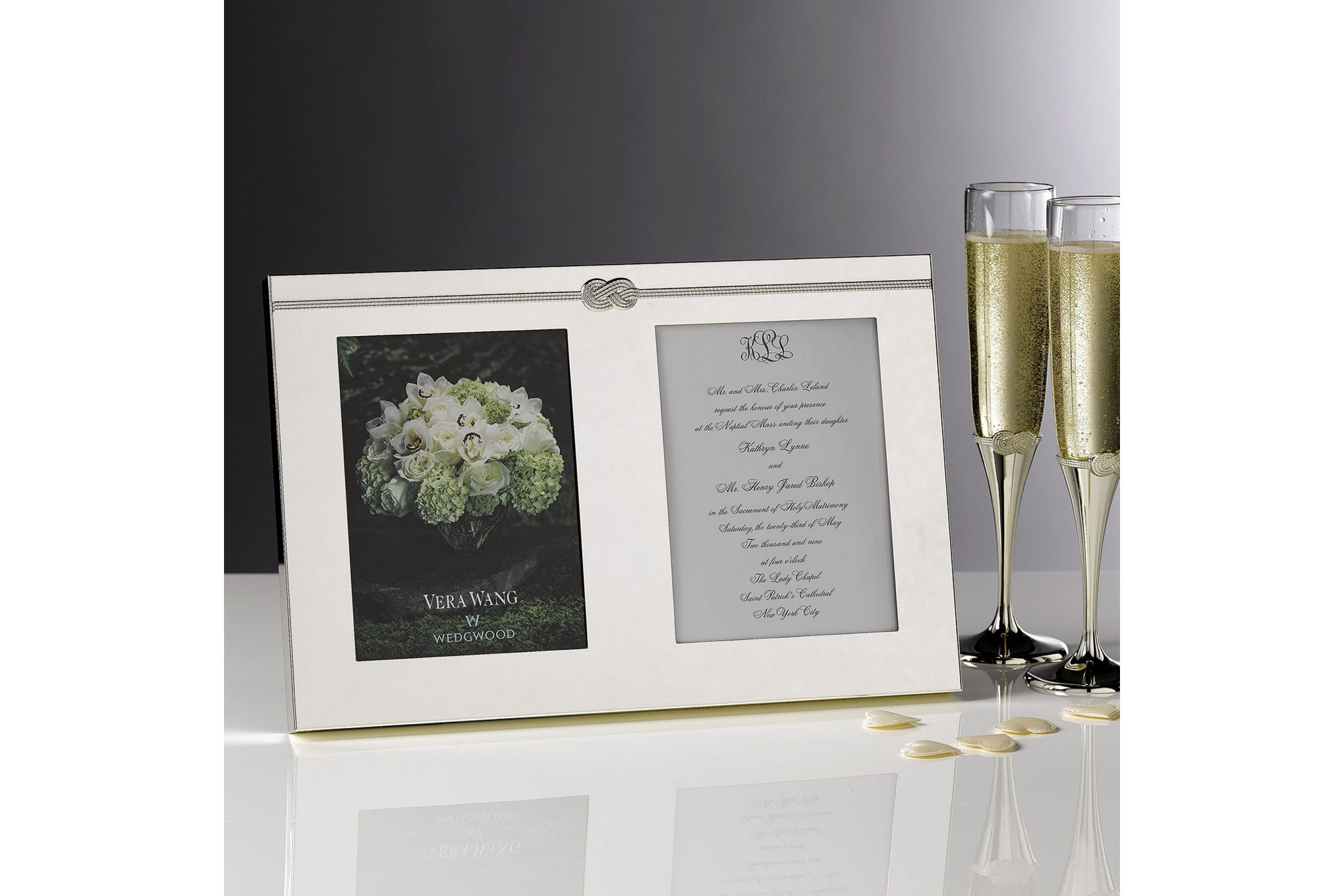 Vera Wang for Wedgwood Gifts & Accessories Double Invitation Frame Infinity thumb 3