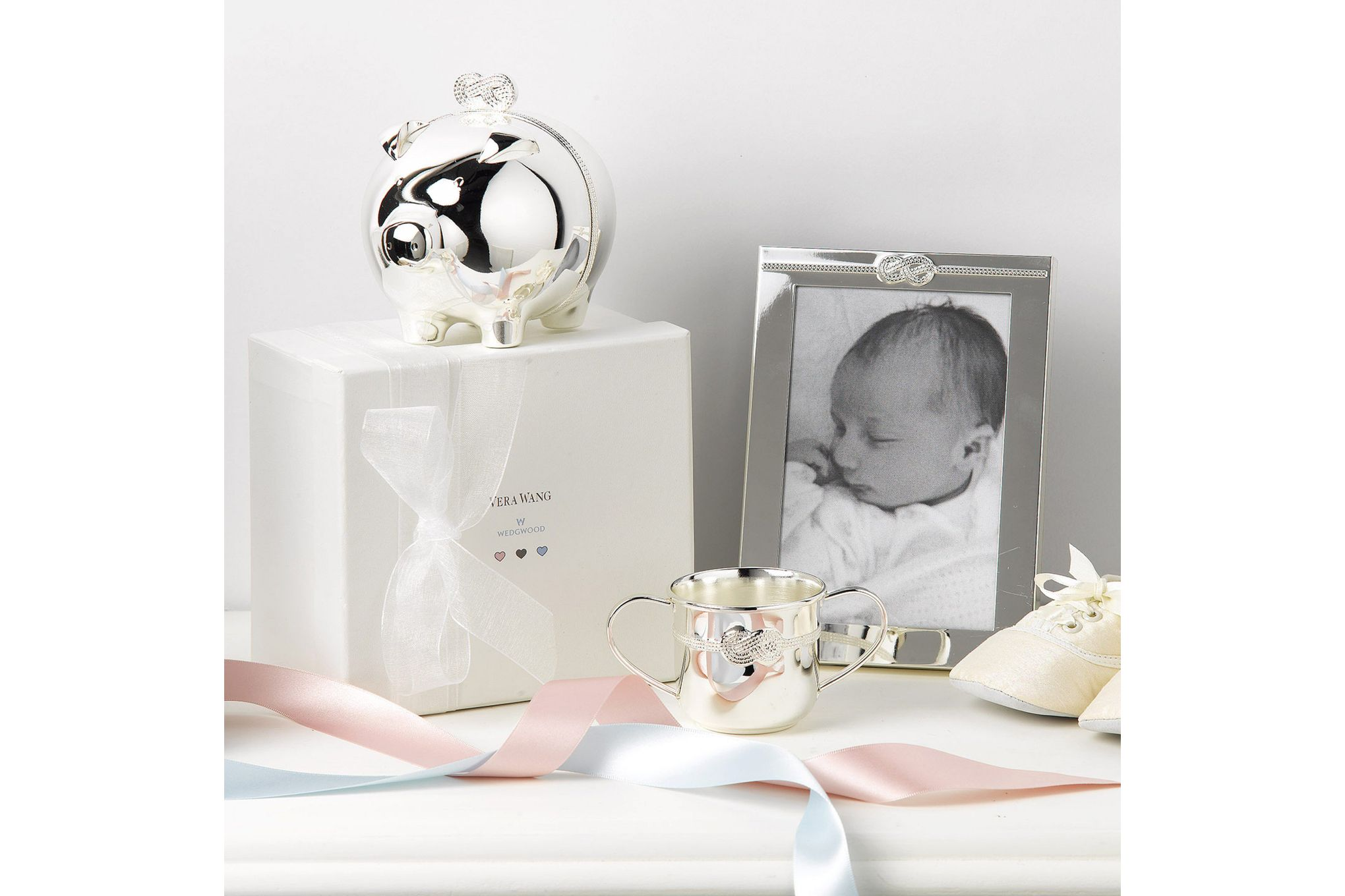 """Vera Wang for Wedgwood Gifts & Accessories Photo Frame Infinity 4 x 6"""" thumb 2"""