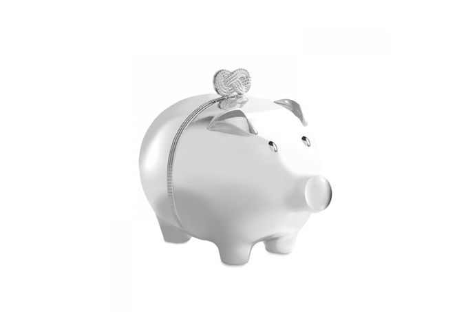 Vera Wang for Wedgwood Gifts & Accessories Piggy Bank Infinity