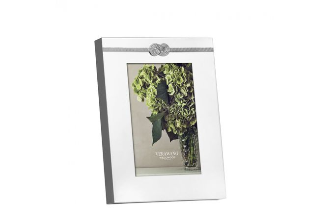 """Vera Wang for Wedgwood Gifts & Accessories Photo Frame Infinity 4 x 6"""""""