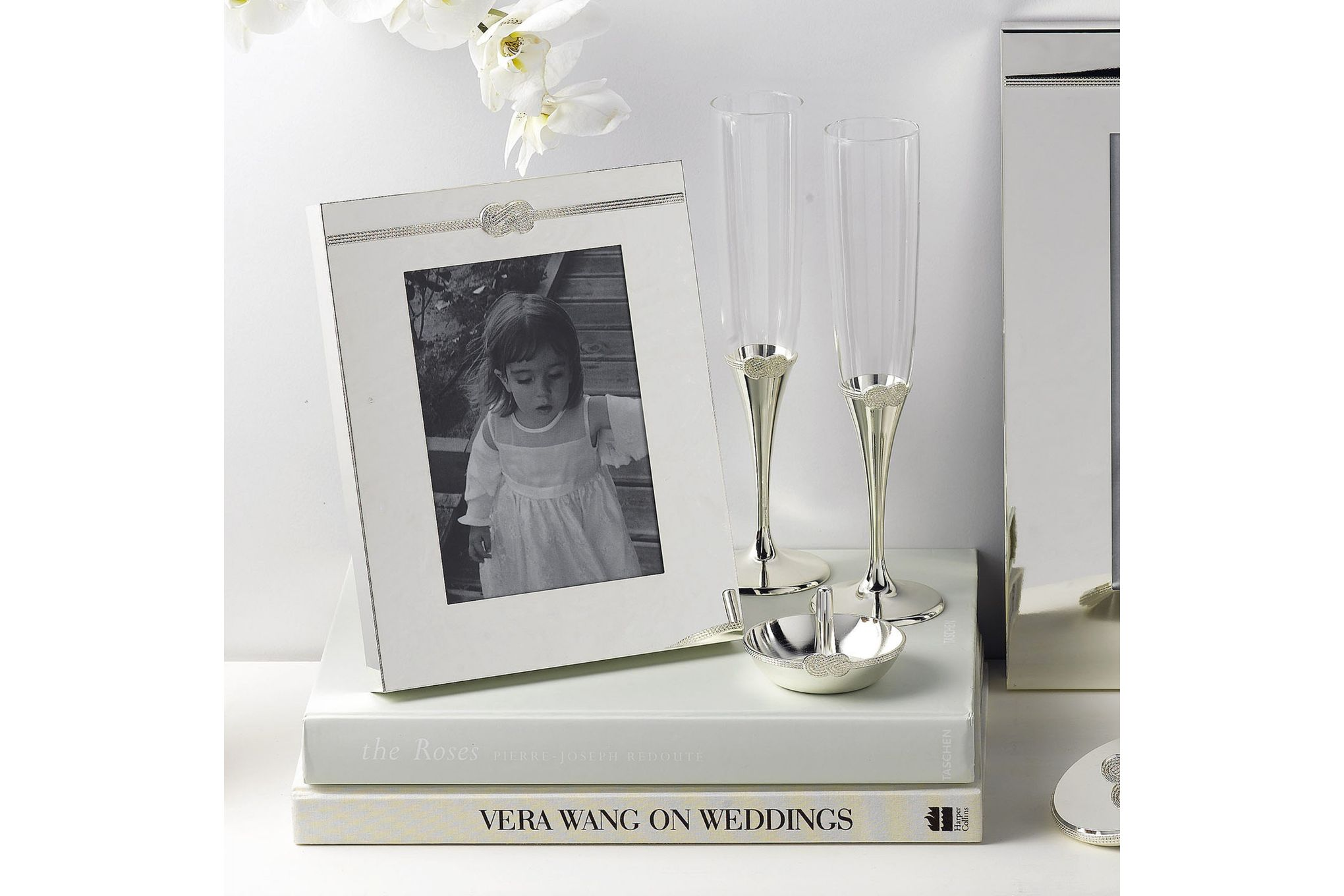 "Vera Wang for Wedgwood Gifts & Accessories Photo Frame Infinity 5 x 7"" thumb 3"