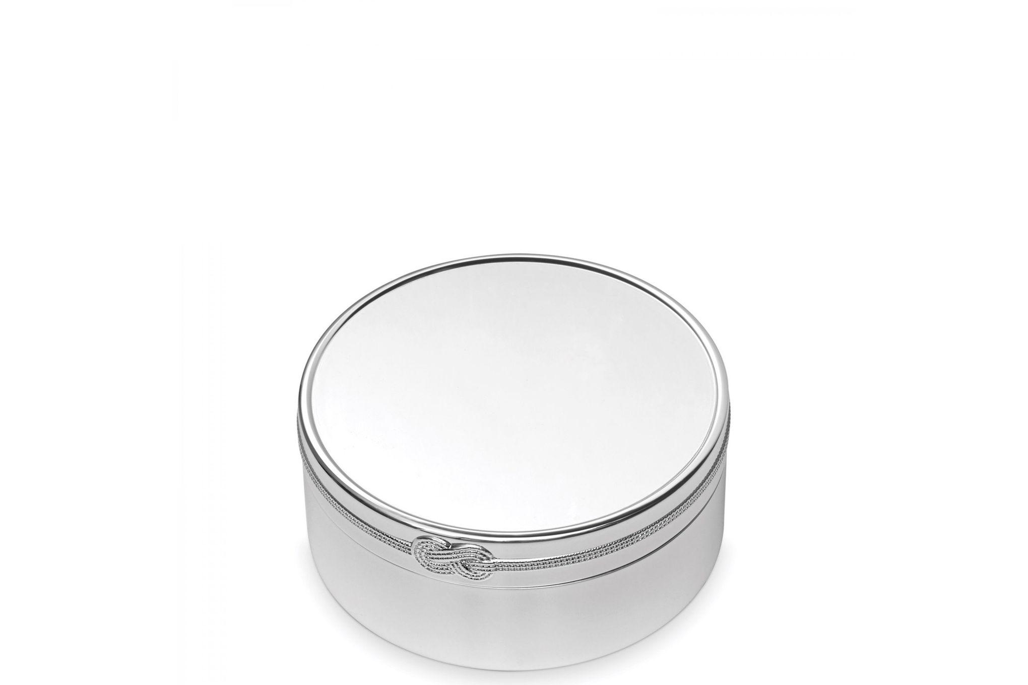 "Vera Wang for Wedgwood Gifts & Accessories Keepsake Box Infinity 7 1/2 x 3 1/2"" thumb 1"
