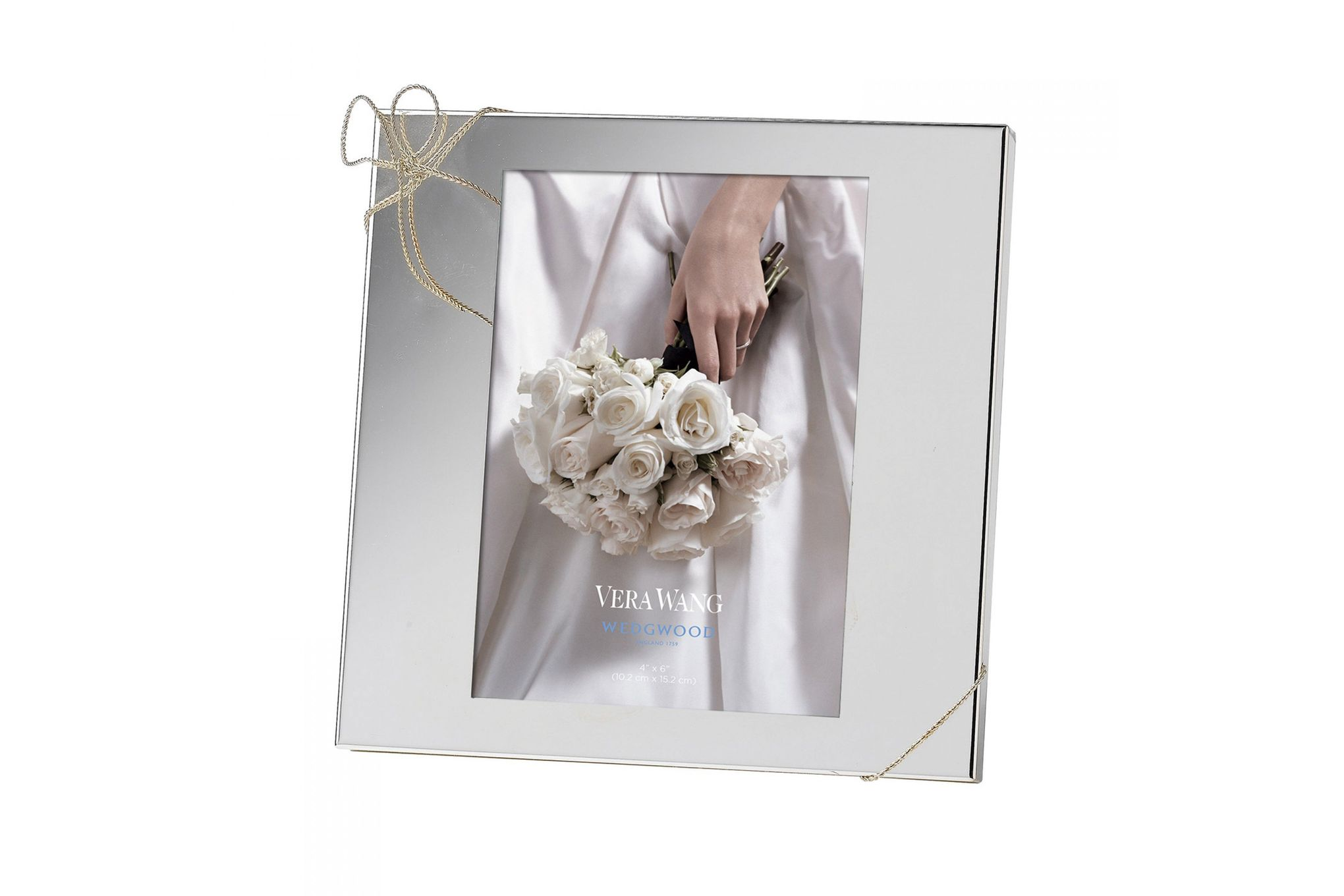 "Vera Wang for Wedgwood Gifts & Accessories Photo Frame Love Knots 4 x 6"" thumb 1"