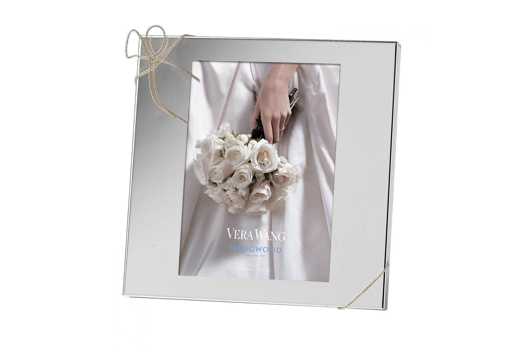 """Vera Wang for Wedgwood Gifts & Accessories Photo Frame Love Knots 5 x 7"""" thumb 1"""
