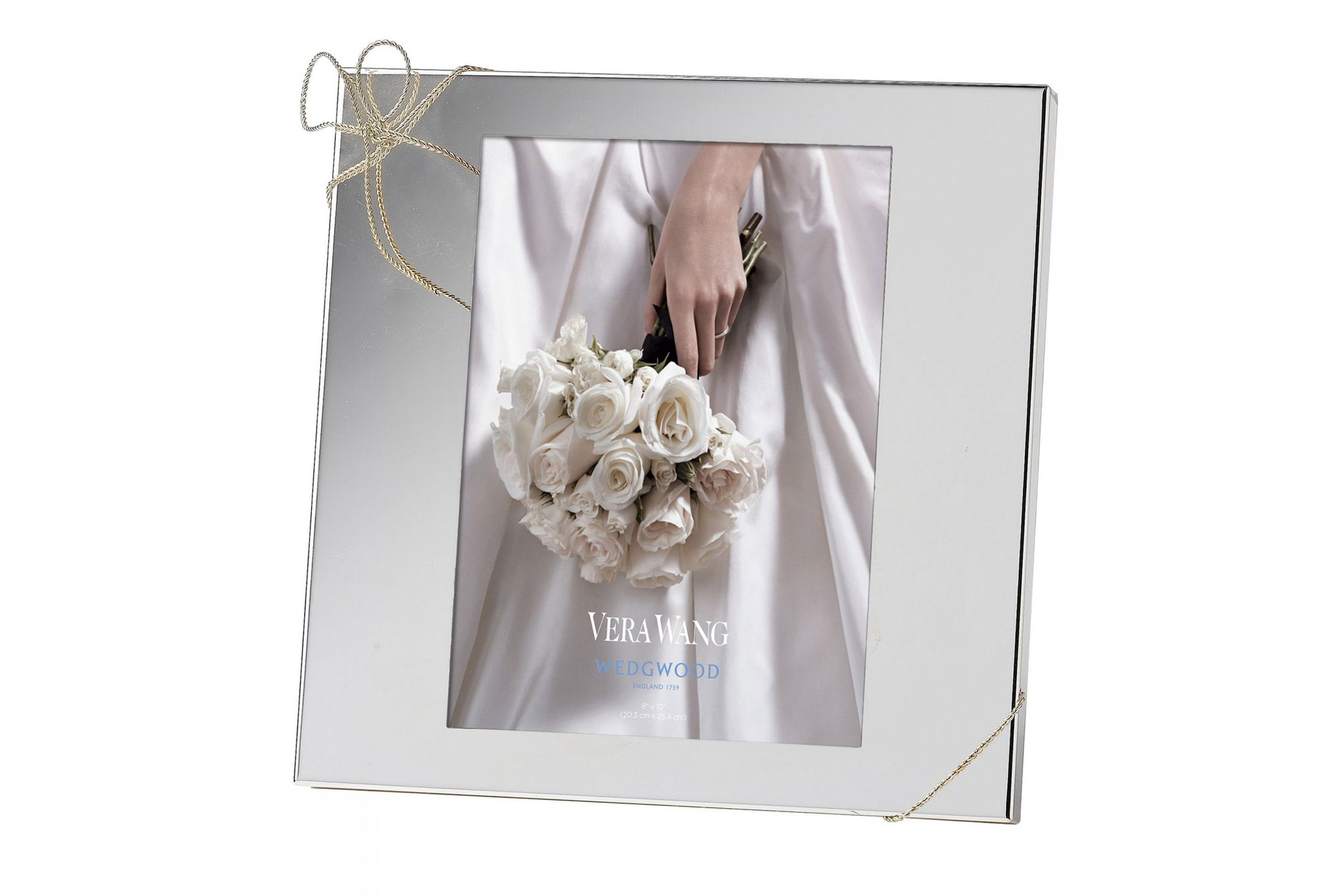 """Vera Wang for Wedgwood Gifts & Accessories Photo Frame Love Knots 8 x 10"""" thumb 1"""
