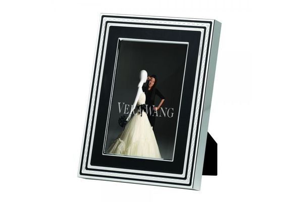 """Vera Wang for Wedgwood Gifts & Accessories Photo Frame With Love Noir 4 x 6"""""""