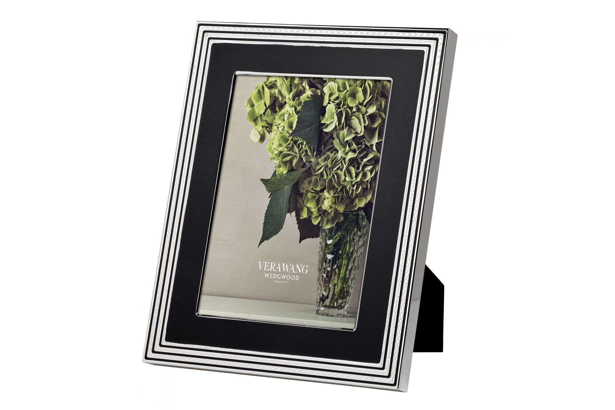 """Vera Wang for Wedgwood Gifts & Accessories Photo Frame With Love Noir 8 x 10"""" thumb 1"""