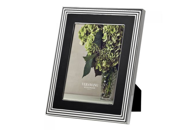 """Vera Wang for Wedgwood Gifts & Accessories Photo Frame With Love Noir 8 x 10"""""""