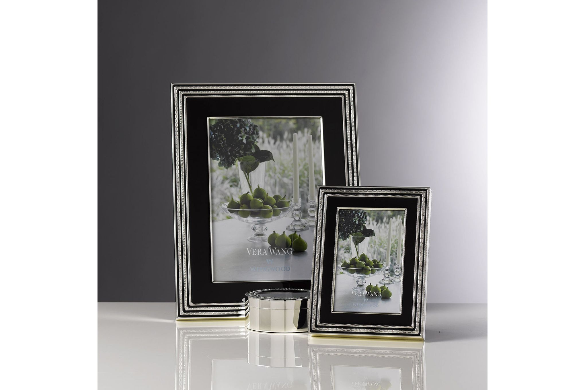 """Vera Wang for Wedgwood Gifts & Accessories Photo Frame With Love Noir 8 x 10"""" thumb 2"""