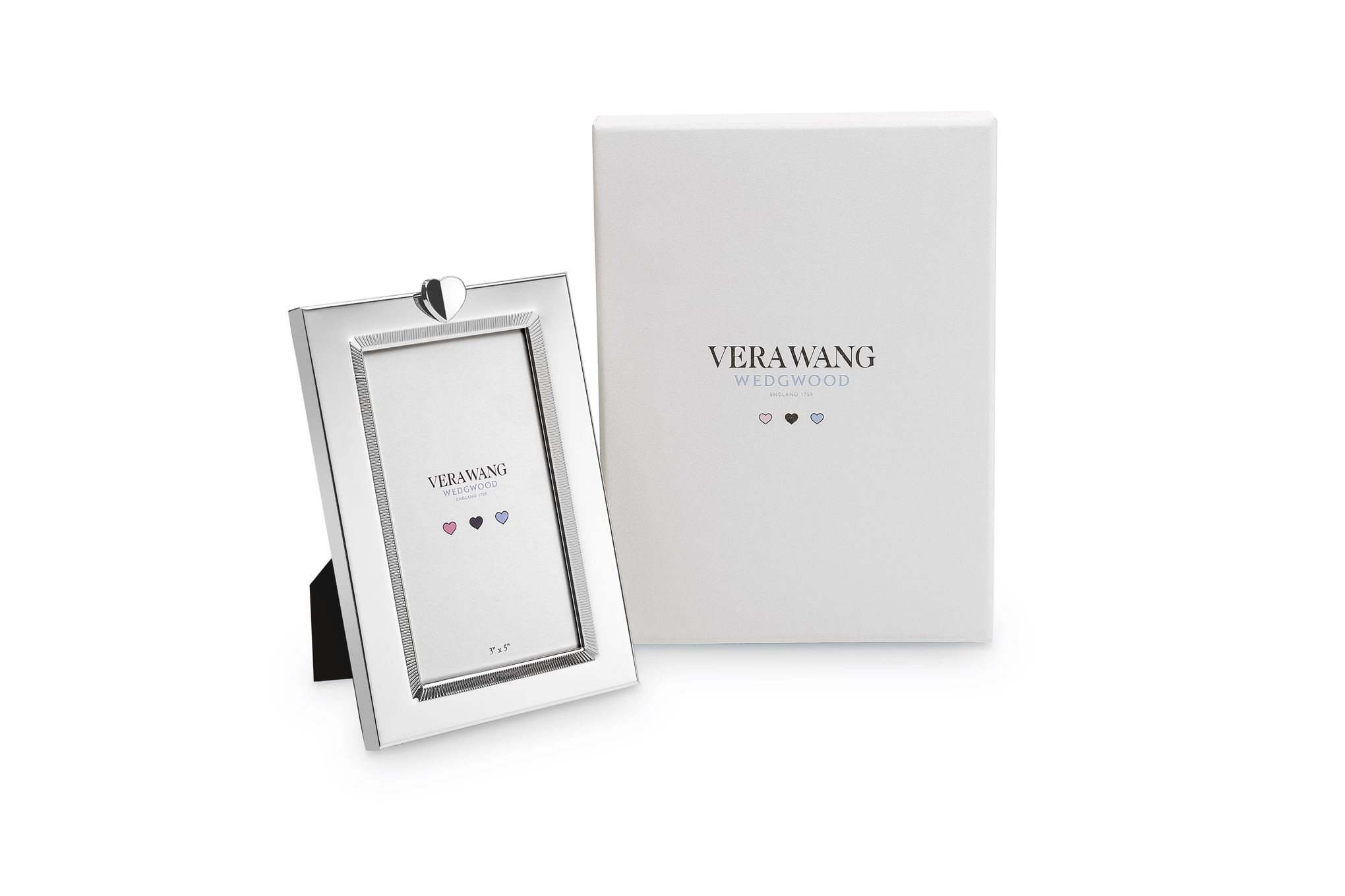 "Vera Wang for Wedgwood Love Always Photo Frame 3 x 5"" thumb 2"