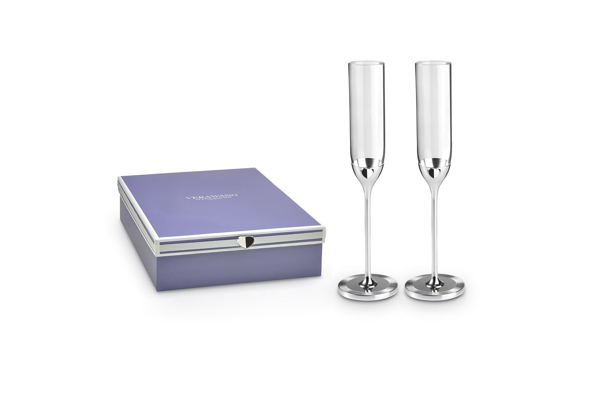 Vera Wang for Wedgwood Love Always Toasting Flute Pair thumb 1