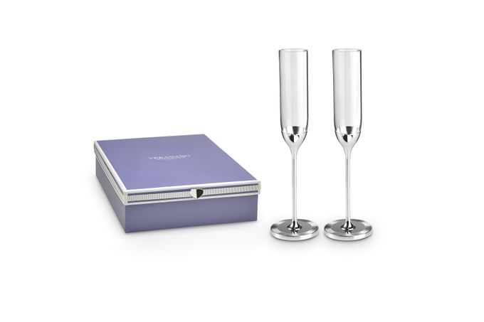 Vera Wang for Wedgwood Love Always Toasting Flute Pair