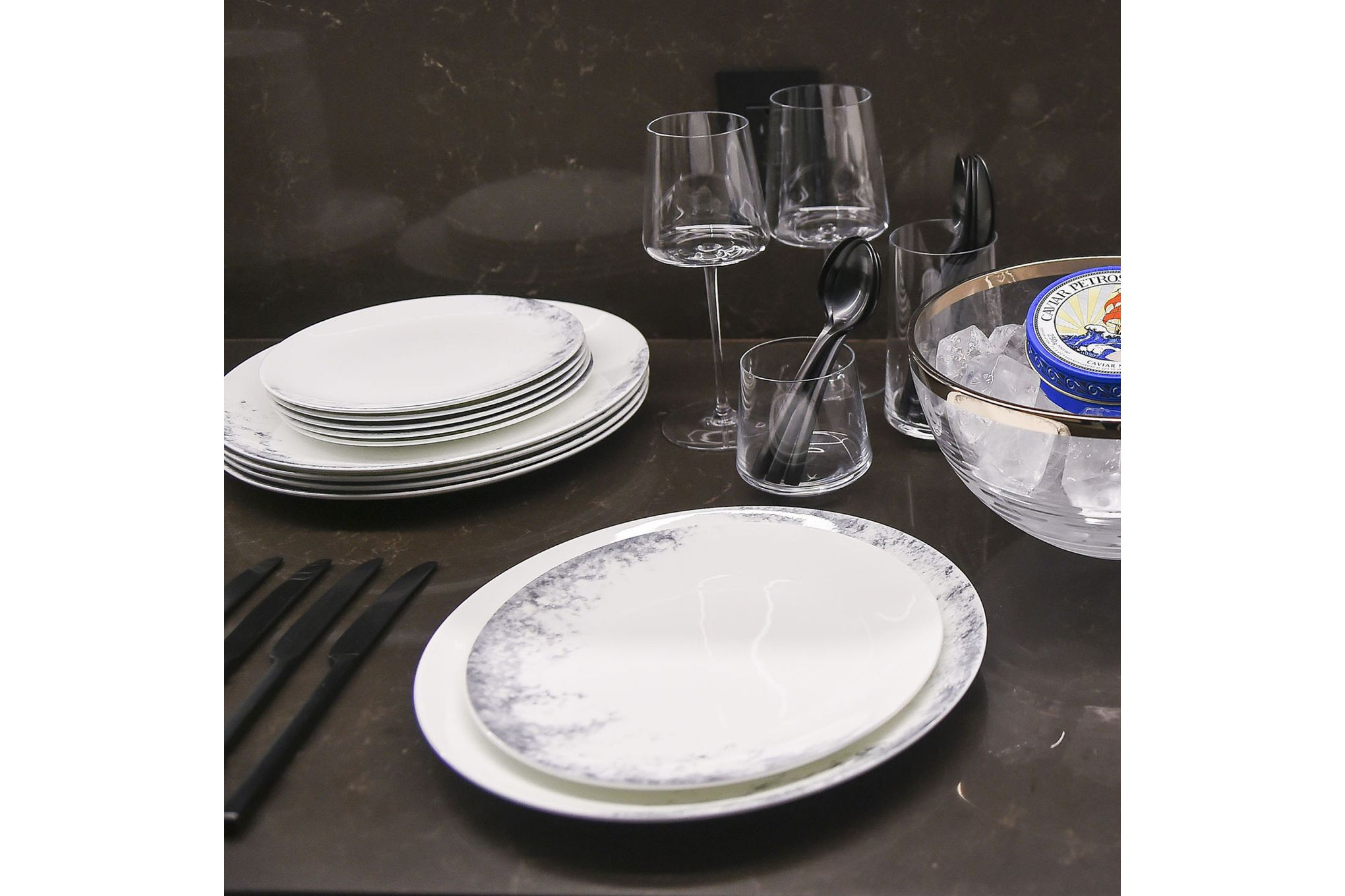 Vera Wang for Wedgwood Pointilliste Tea Plate 15cm thumb 2