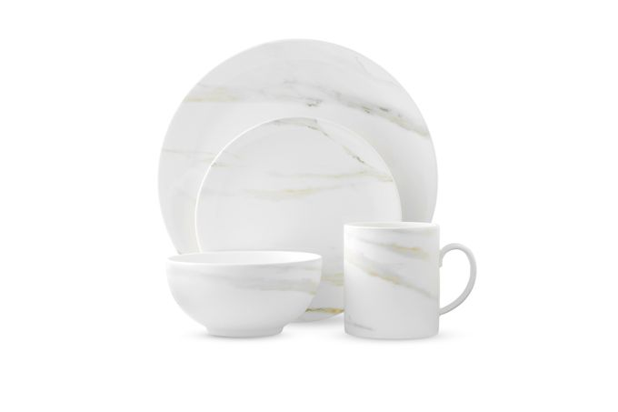 Vera Wang for Wedgwood Venato Imperial 4 Piece Place Setting