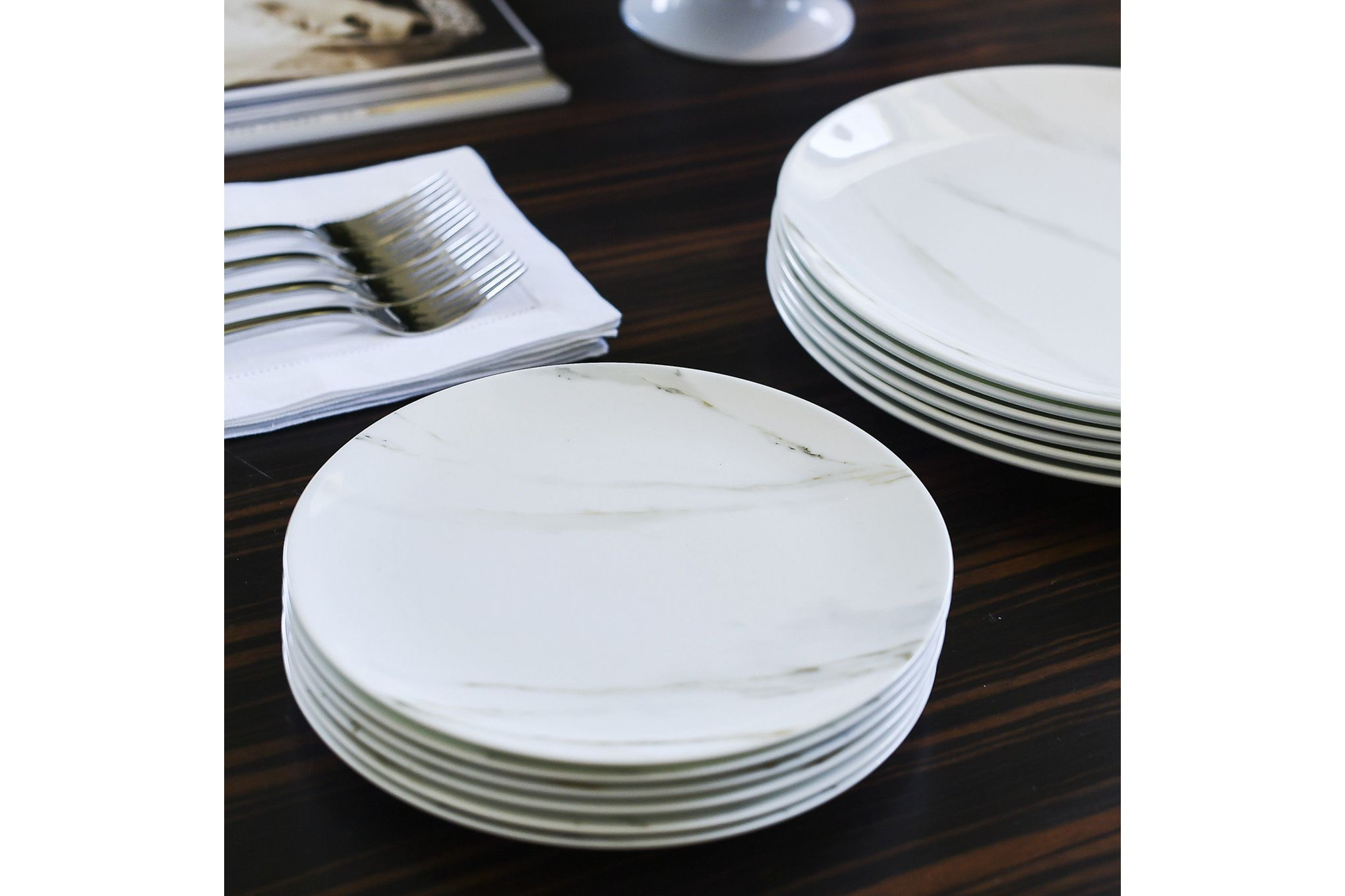 Vera Wang for Wedgwood Venato Imperial Breakfast Plate 23cm thumb 2