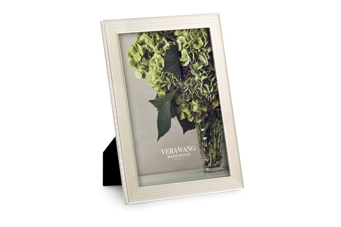 """Vera Wang for Wedgwood With Love Nouveau Photo Frame Pearl 5 x 7"""""""