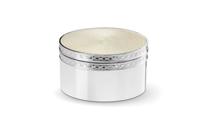 Vera Wang for Wedgwood With Love Nouveau Covered Box Pearl