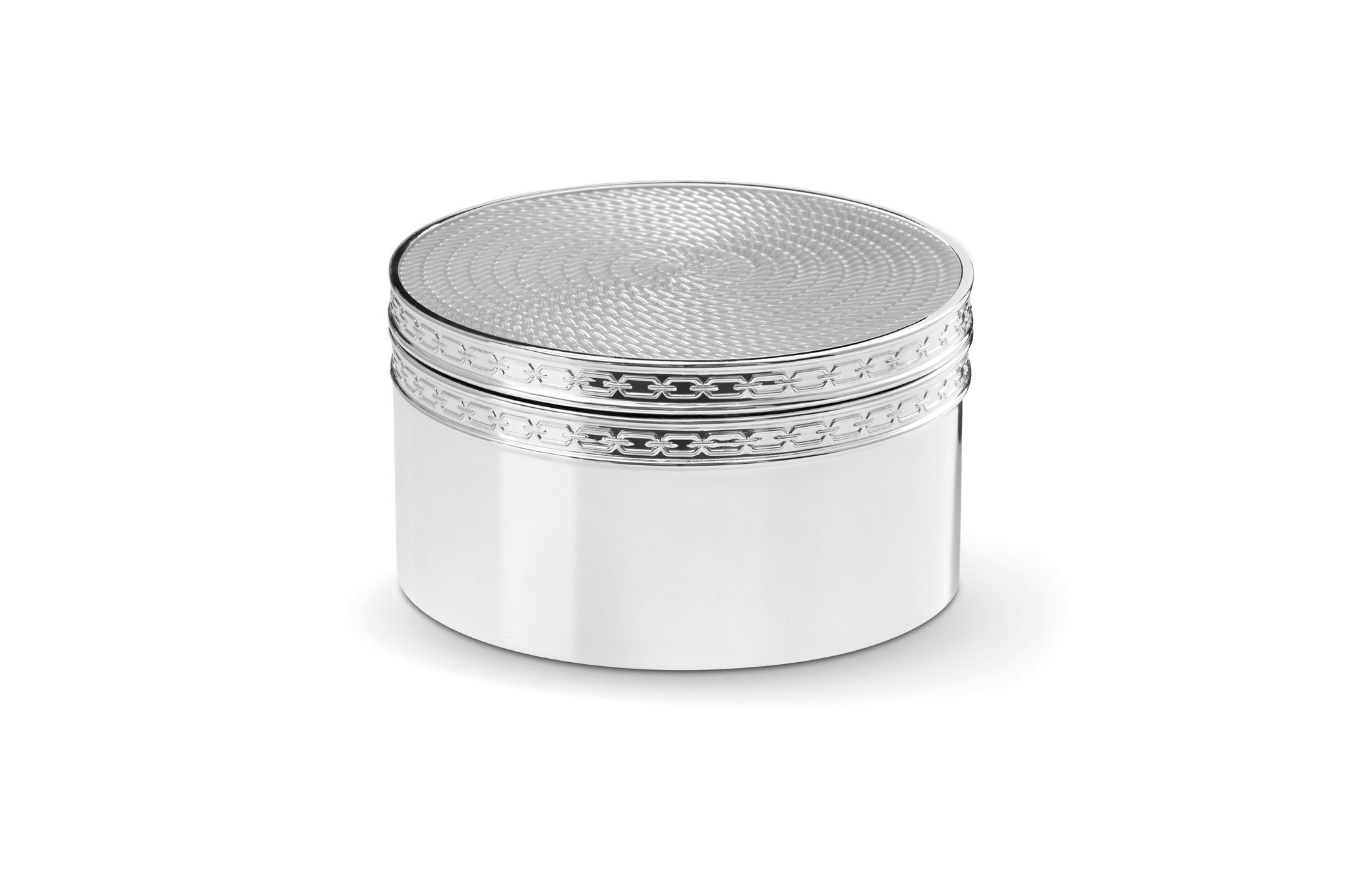 Vera Wang for Wedgwood With Love Nouveau Covered Box Silver thumb 1