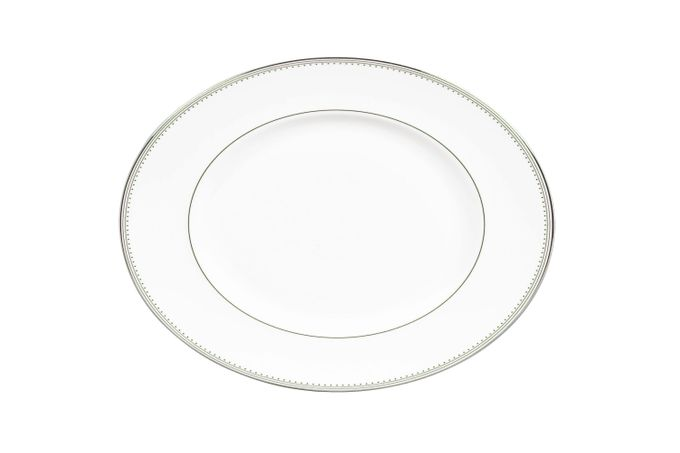 Vera Wang for Wedgwood Grosgrain Oval Plate / Platter 35cm