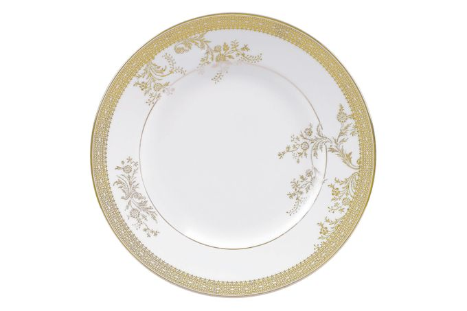 Vera Wang for Wedgwood Lace Gold Side Plate Accent 20cm