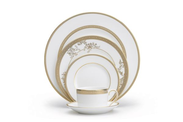 Vera Wang for Wedgwood Lace Gold