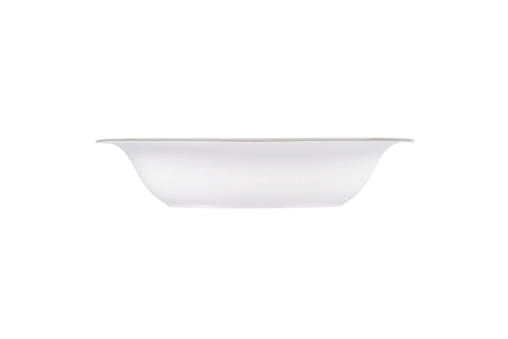 Vera Wang for Wedgwood Lace Gold Vegetable Dish (Open) 25cm thumb 1