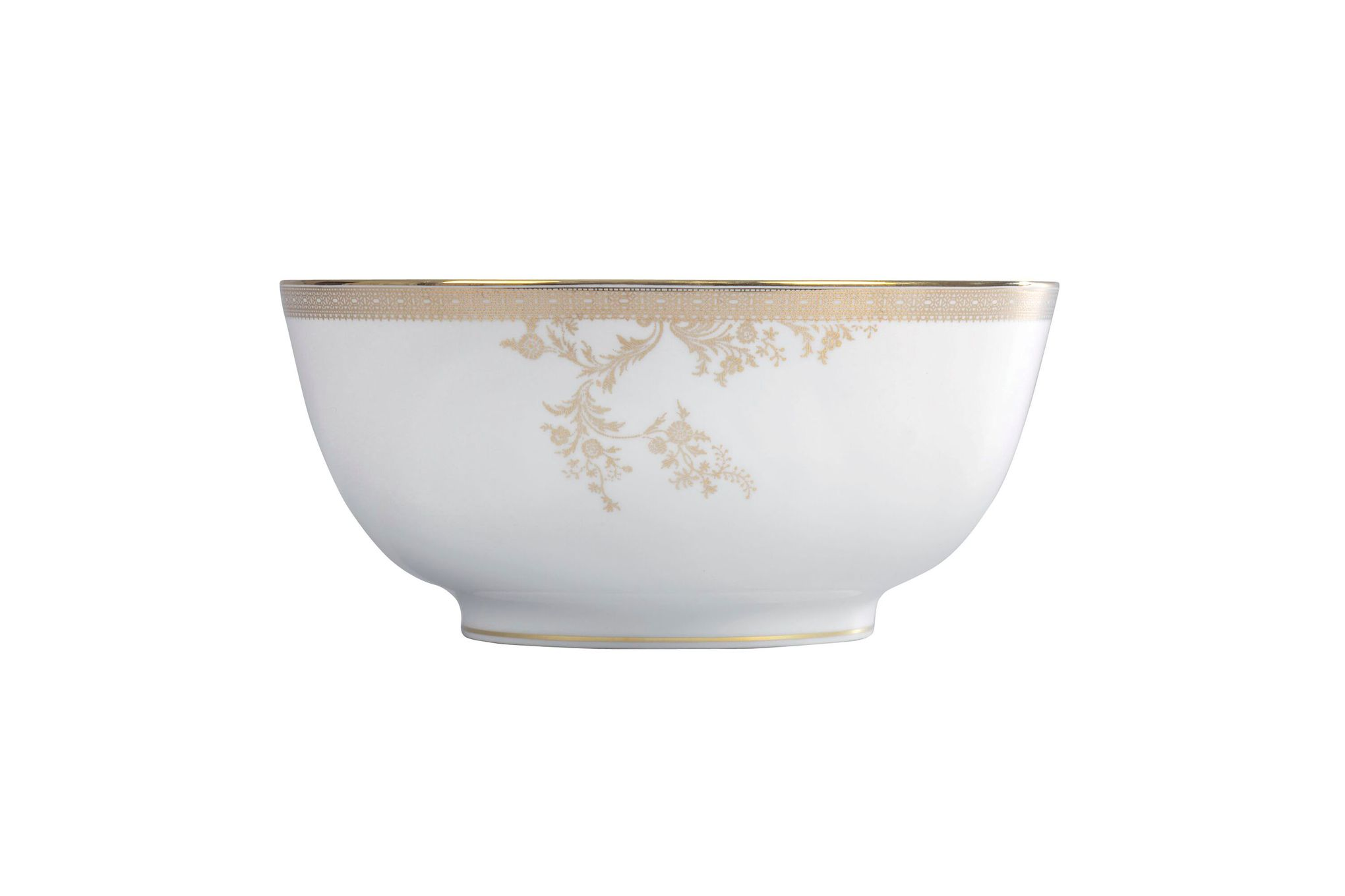 Vera Wang for Wedgwood Lace Gold Serving Bowl 25cm thumb 1