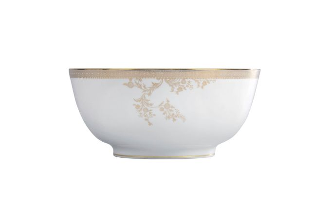 Vera Wang for Wedgwood Lace Gold Serving Bowl 25cm