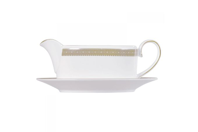Vera Wang for Wedgwood Lace Gold Sauce Boat