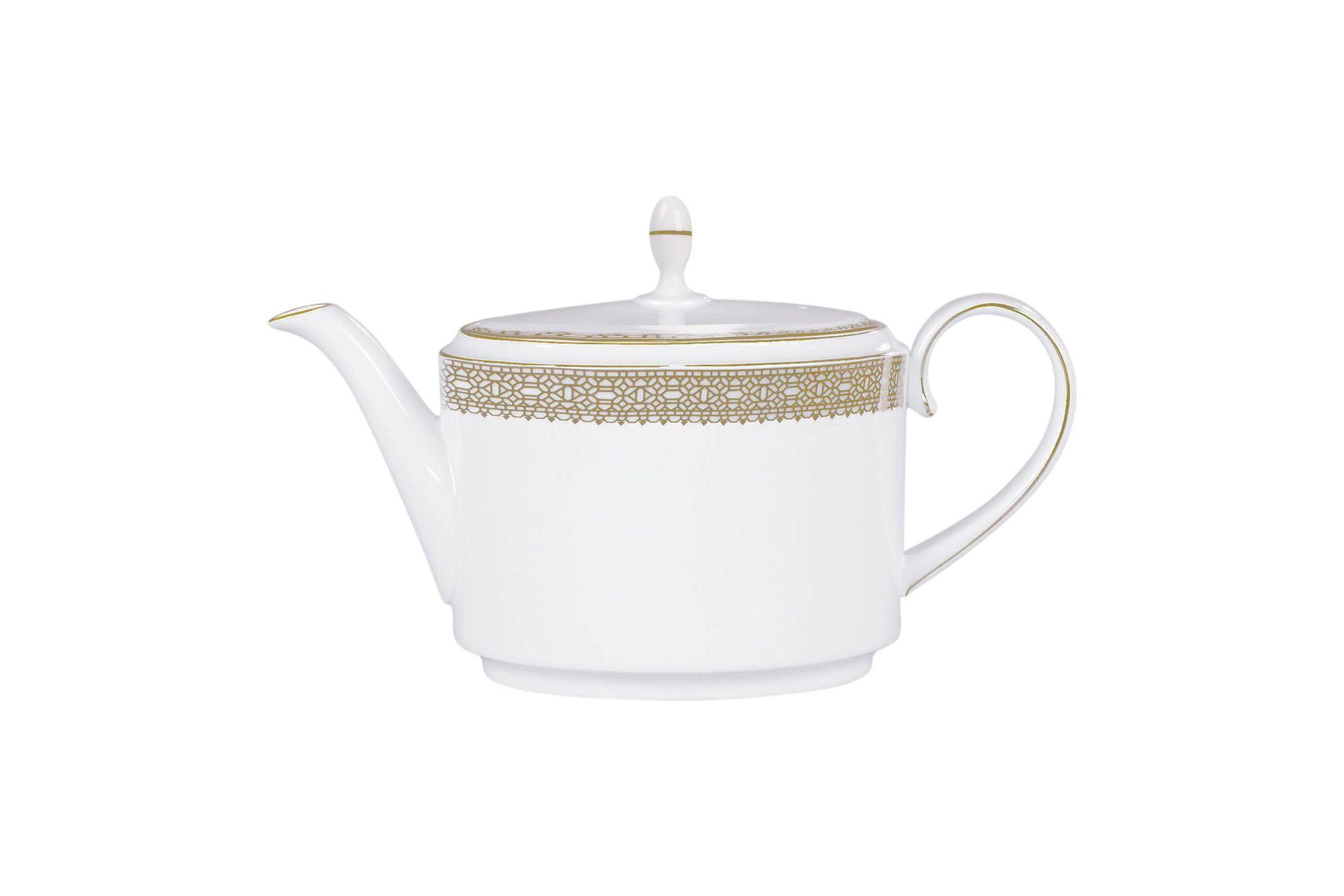 Vera Wang for Wedgwood Lace Gold Teapot 0.66l thumb 1