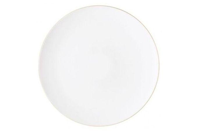 "Vera Wang for Wedgwood Naturals Round Platter Chalk 14"""