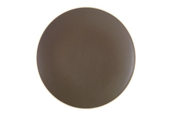 """Vera Wang for Wedgwood Naturals Dinner Plate Graphite 11"""""""