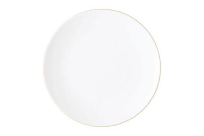 "Vera Wang for Wedgwood Naturals Dinner Plate Chalk 11"""