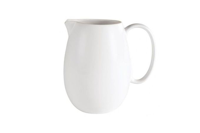 Vera Wang for Wedgwood Naturals Pitcher Large - Chalk