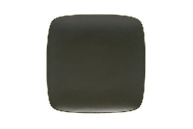 """Vera Wang for Wedgwood Naturals Square Plate Graphite 9"""""""