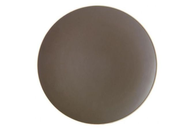 "Vera Wang for Wedgwood Naturals Round Platter Graphite 14"""