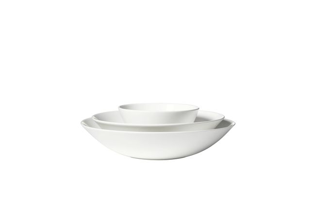 Vera Wang for Wedgwood Perfect White 3 Piece Nesting Bowl Set