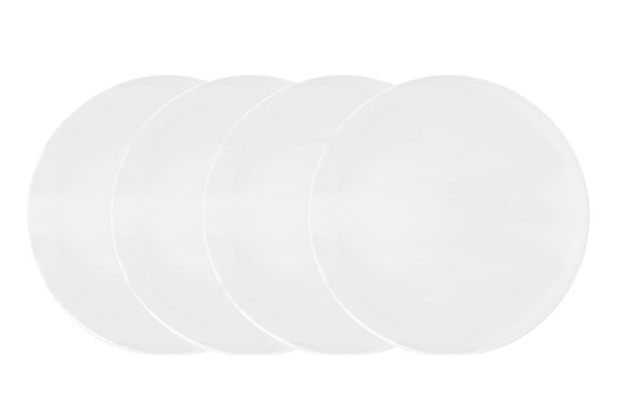 Vera Wang for Wedgwood Perfect White Side Plate - Set of 4 20cm