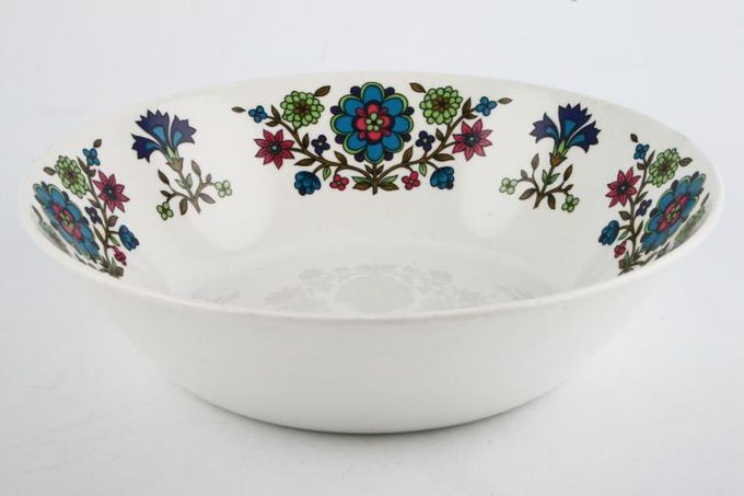 """Midwinter Country Garden Serving Bowl Round 8 1/2"""""""